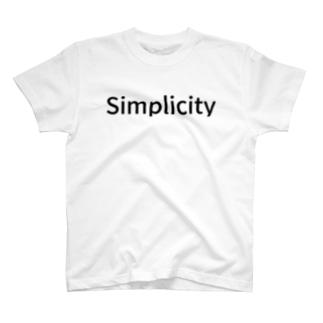 Simplicity T-shirts