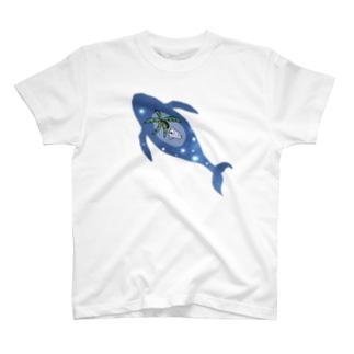 ニキータとヤシクジラ 星見T T-shirts