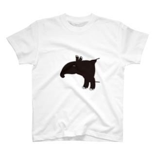 """バク好きさんのための""""バクT"""" T-shirts"""