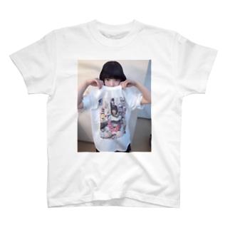 がんばれ!みんなのごいちーちゃんTシャツを着ているごいちーちゃん T-shirts
