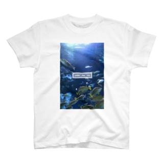 under the sea さかな T-shirts