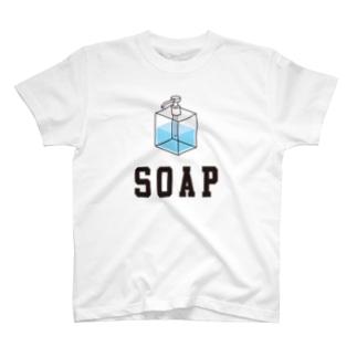 """""""SOAP""""イラスト T-shirts"""