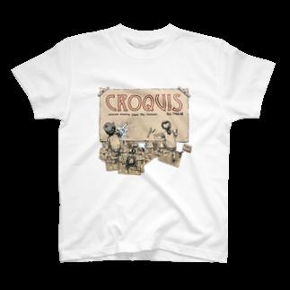 omaoのクロッキー帳 T-shirts