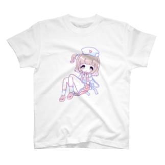 苺谷みるのみるくごきゅごきゅ T-shirts