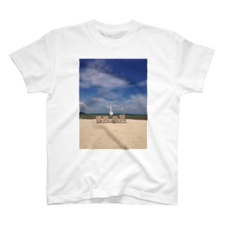 ビーチパラソル T-shirts