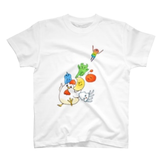 そこほれ!チャコフさん一周年記念イラスト T-shirts