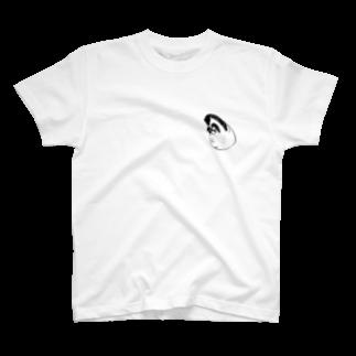 ぴょんテクショップのくいしんぼうボール T-shirts