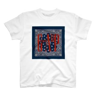 GangstARAP_red T-shirts