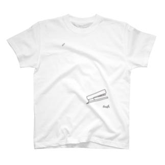 ステープラー T-shirts