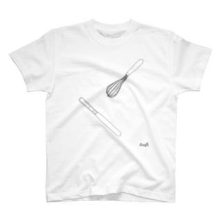 ホイッパー&パレットナイフ T-shirts
