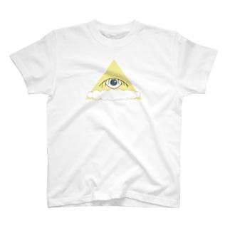 秘密結社おじさん ドローイング T-shirts