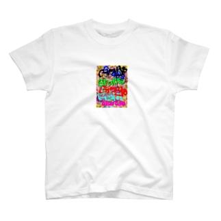 ペンキアート T-shirts