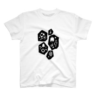 wakuwaku no house T-shirts