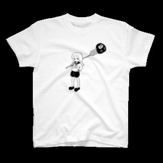 びしょびしょの惣菜のだるまハンター T-shirts