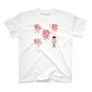 CAKEちゃんズ T-shirts