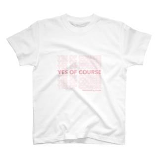 Cecilé × message logo T-shirts