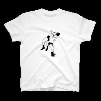 Panic Junkieのカナディアンバックブリーカーカナディアンバックブリーカー T-shirts