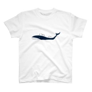 クジラとペンギン T-shirts