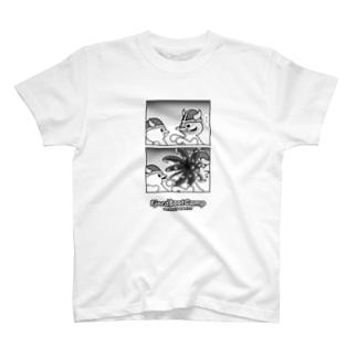 寄生されたピヨルド T-shirts
