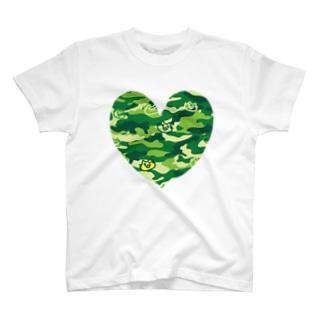 迷彩ねこ2 T-shirts