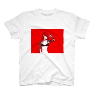 セルフヒットガール2 T-shirts