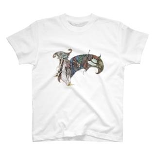 山羊の鐘(color) T-shirts