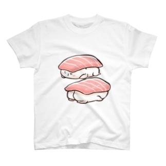 sushi marshmallow T-shirts