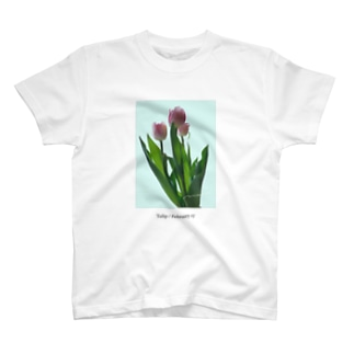 Tulip / pink blue T-shirts