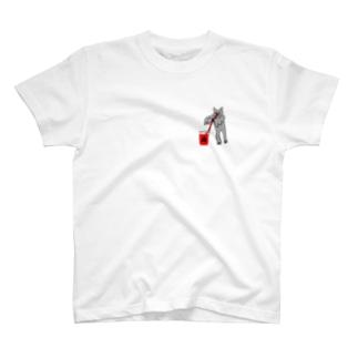 血液型をさりげなく申告(A) T-shirts