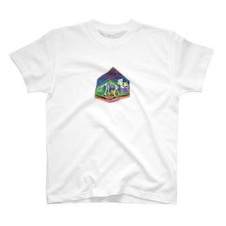 トリケラトプス T-shirts