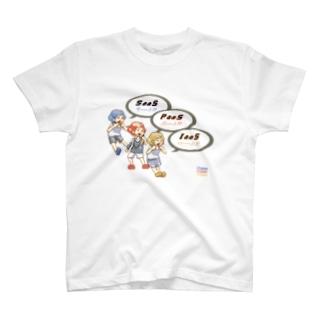 クラウド3兄弟 T-shirts