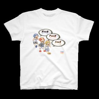 ITgagsのクラウド3兄弟 T-shirts
