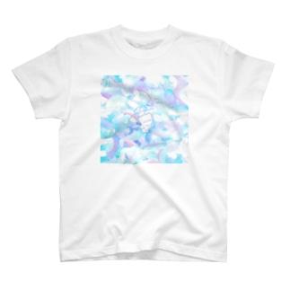 雨の日のもち T-shirts