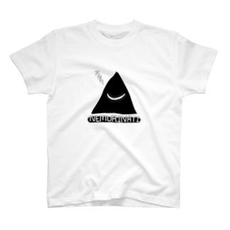 ネムリナティのマーク:ブラック T-shirts