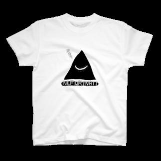 六尺三太郎のネムリナティのマーク:ブラック T-shirts