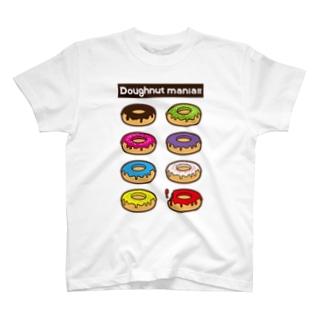 ドーナツマニア!!!よりどりみどり T-shirts