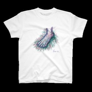 圭一郎のfoot T-shirts