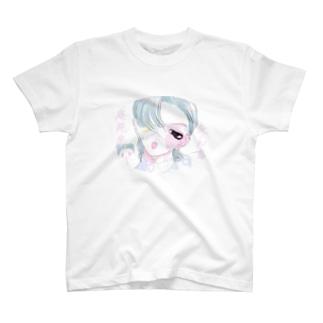 不杏椎くん T-shirts