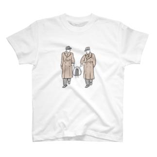 エージェントに捕まったおっにぎりくん T-shirts