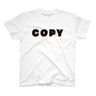 キッズ: COPY T-shirts
