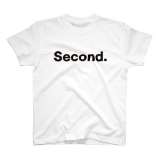 キッズ: 兄弟ナンバリング「2」  T-shirts