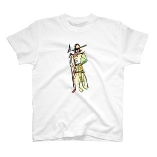 人工知能が塗りました T-shirts