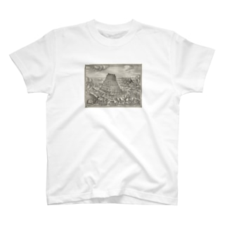 """The Tower of Babel"" S/S Tee  T-shirts"