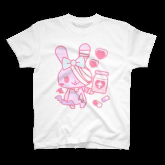 Meltrium*の病みホリ兎桃02 T-shirts