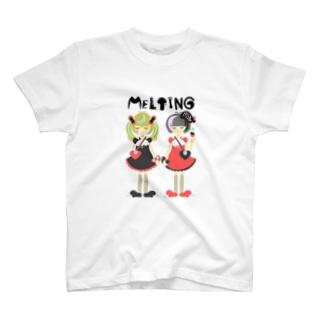 メルト姉妹  ゴシック&パンク T-shirts