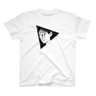 TRIANGLE GIRL T-shirts