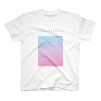 にんげんがへた T-shirts