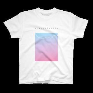 にんげんがへたエフエム公式のにんげんがへた T-shirts