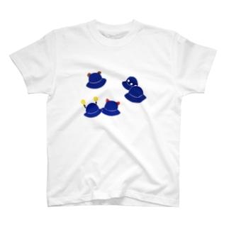 帽子遊び T-shirts
