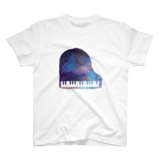 夢のピアノさん T-shirts